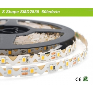 S shape twisted led strip