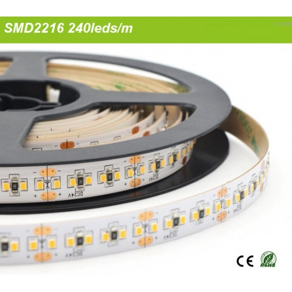 SMD2216 Flexible LED Strip DC24V 240leds/m