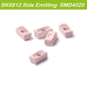 SK6812 Chip-Built-In SMD4020 Sideview Emitting Intelligent RGB LED