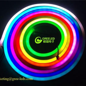 neon led tube ribbon light