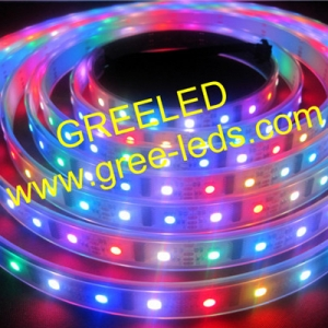 5V LPD8806 pixels led strip 32leds/m 52leds/m 60leds/m
