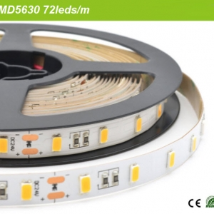 SMD5630 led strip 50-55lum/led