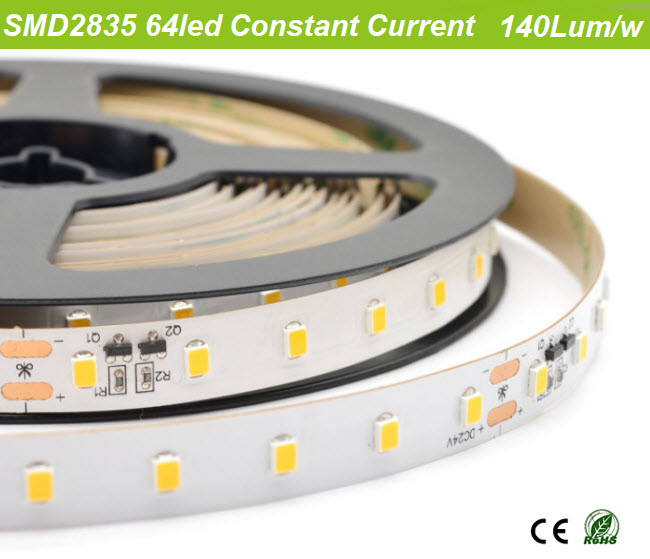 140lum/w constant current led strip