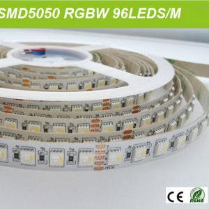 96 led/m rgbw 4 color embed in 5050 led belt tape